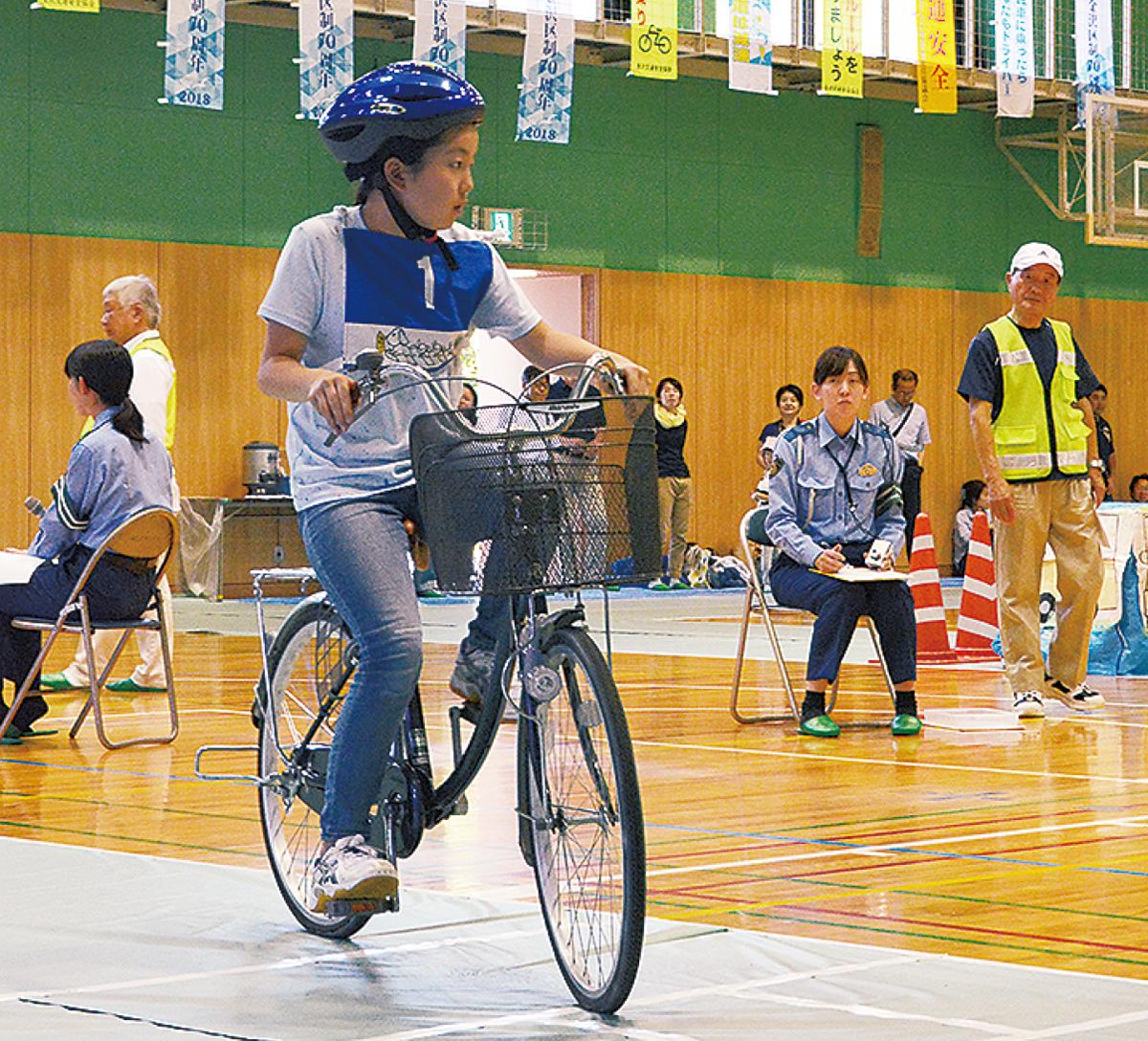 自転車マナー向上へ