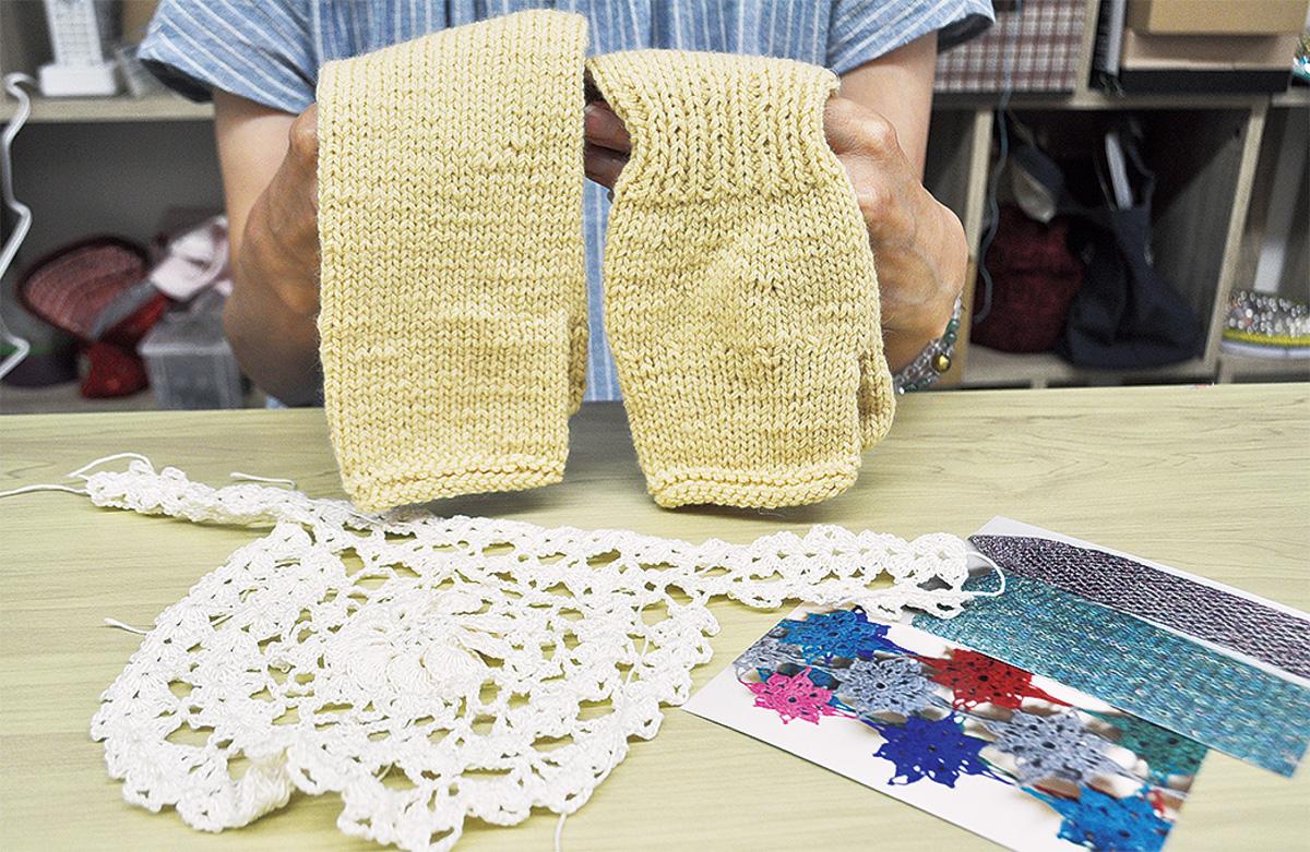 糸で医療用衣類、紡ぐ