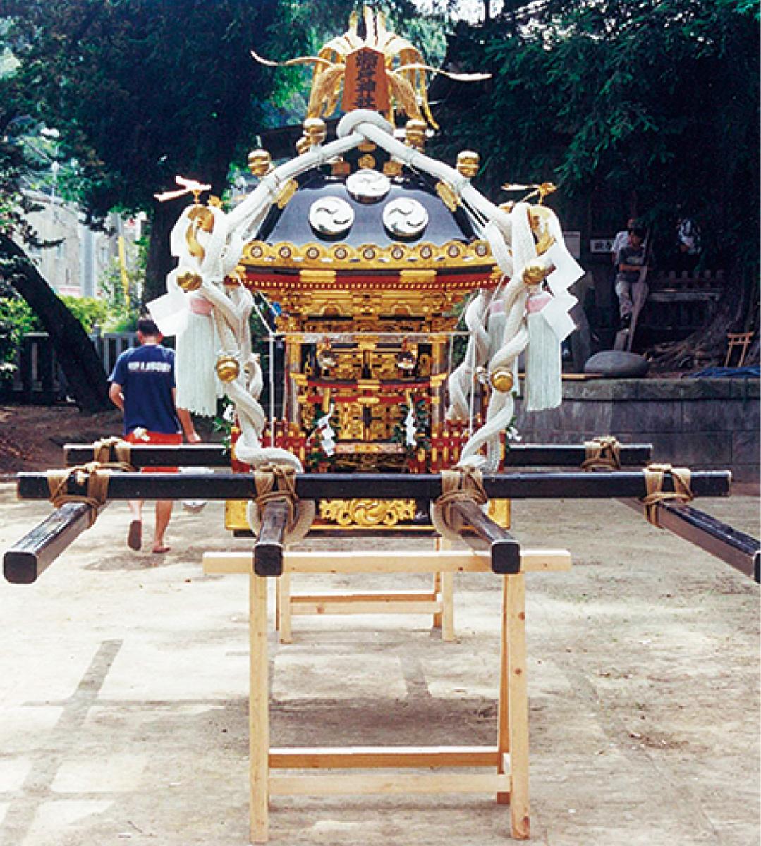 金沢の神輿、一堂に
