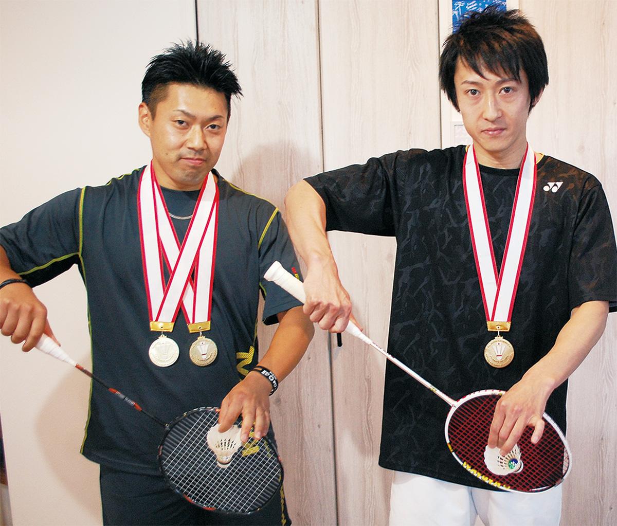優勝した熊倉さん(左)・宮下さん(右)