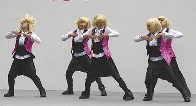 初の青少年ダンスまつり