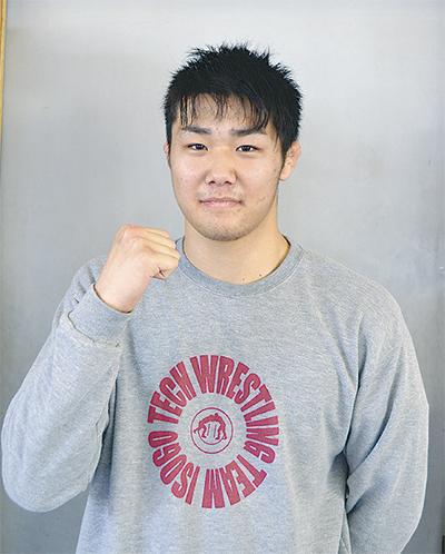 内藤選手が全国3位