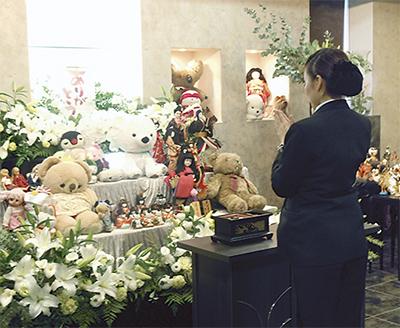 参加無料の人形供養祭