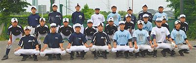 春季県大会で初優勝