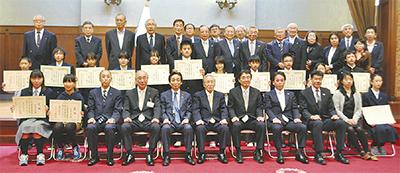 「税の標語」を表彰