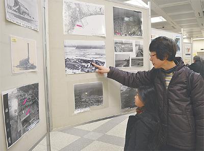 堀割川の歴史を展示