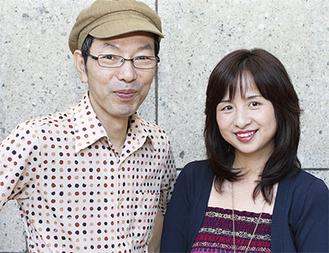 斎藤さん(左)と忍足さん。今後も区内で多くの演奏会が予定されている