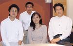 又吉社長(前列中央)とスタッフ