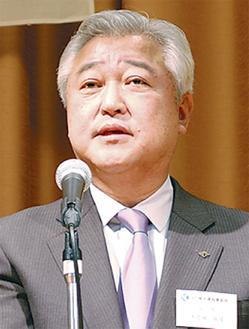 横建協の土志田会長
