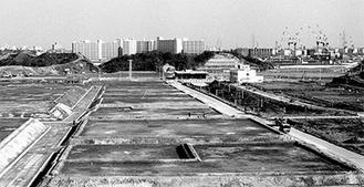 開業当初の港南台駅周辺