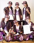 BLAVE(左上から時計回り)の八木さん、本田さん、佐藤さん、米澤さん、澤尾君、中山さん
