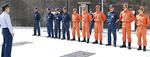 港南台消防出張所で行われた運用開所式