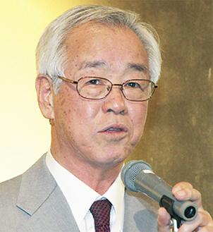 「チャレンジする1年」と笠原会長