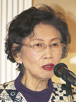 「災害に強い女性に」と松井会長