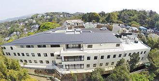昨年12月に完成した新病棟