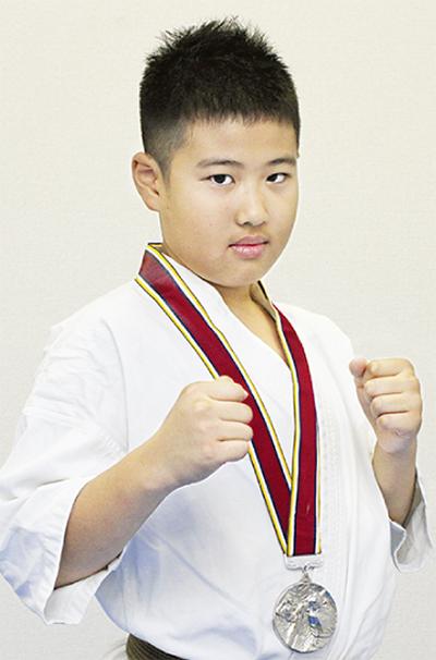 山野井君が準優勝極真空手 全国大会で