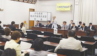 がん撲滅議連の総会(5月29日)
