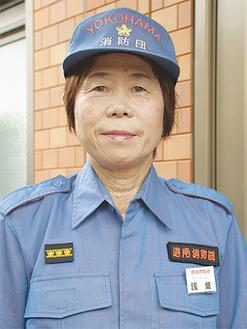 副班長としても活動する浅葉さん