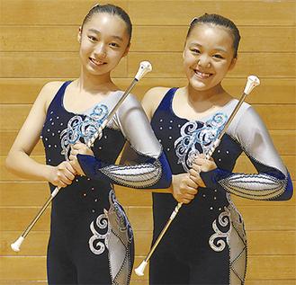 仲澤さん(右)と平久井さん