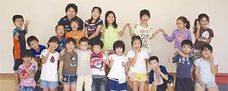 スポーツ学童を利用する児童たち