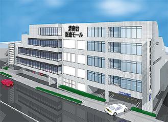 病児保育室が開設される港南台医療モールのイメージ図