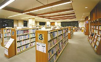 30周年を迎えた港南図書館