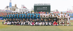 横浜スタジアムでは交流試合が行われた(横浜泉リトルシニア関係者からの提供写真)
