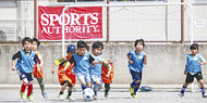南台小でサッカー大会