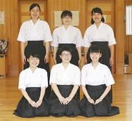 弓道女子、初の全国へ