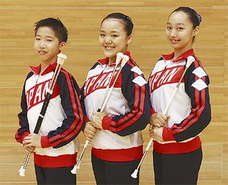 (左から)齋藤君、仲澤さん、平久井さん