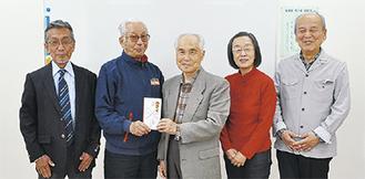 イタッチのメンバー(右側3人)と同好会メンバー