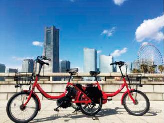 サイクルポートの拡充を図る横浜都心コミュニティサイクル「ベイバイク」(市発表資料より)