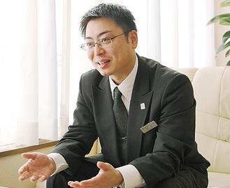 上永谷斎場の吉田さん