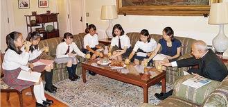 ローマ法王庁バチカン市国大使館なども訪問