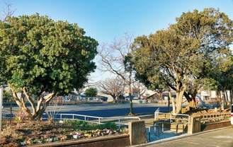 集会所建設提案のある「たかのす公園」