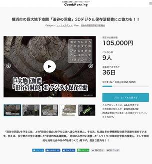 同会のクラウドファンディングのサイトhttps://camp-fire.jp/projects/view/221069