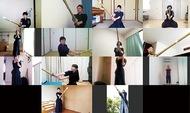 剣道稽古もオンライン
