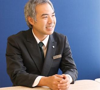 「お気軽にご相談を」と呼びかける上永谷斎場の品川さん
