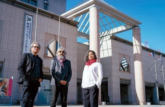 初の外国人ディレクターに起用されたアーティスト集団「ラクス・メディア・コレクティヴ」(撮影:加藤甫)