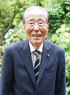 横浜市町内会連合会の会長に就任した栄区連合町内会長の磯崎さん