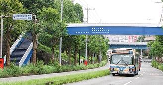 港南台中央公園そばの港南台第一歩道橋