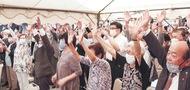 横浜初首相に歓喜の地元