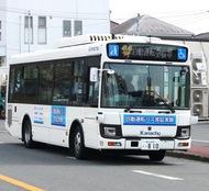 栄区内で自動運転バス実験