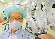 最新鋭手術支援ロボット視察