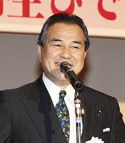 桐生県議が新春の集い