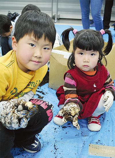 幼虫採集で命を学ぶ