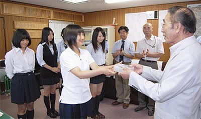 高校生が啓発CD作成