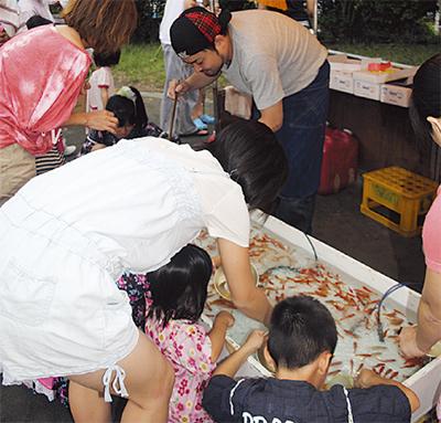 野庭住宅連合自治会夏祭り