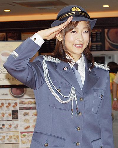松尾翠アナが1日署長