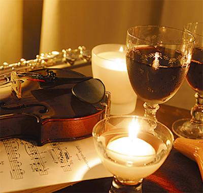 音楽とワインの夕べ
